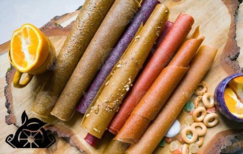 صادرات انواع لواشک کیلویی به ترکیه