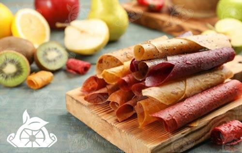 فروشنده لواشک میوه ای ورقه ای در ایران